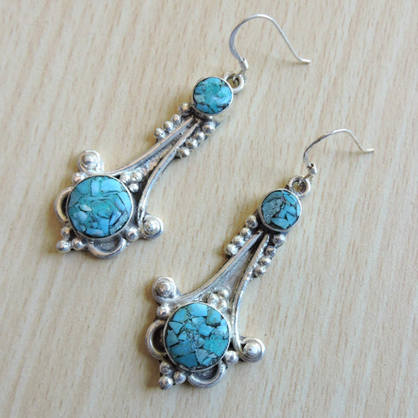 Tibetan Earrings 10