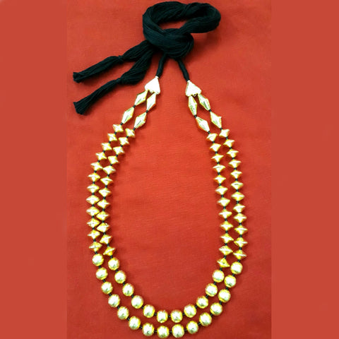 2 Layer Dholki Necklace