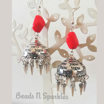 Jogan Jhumkas with Spikes