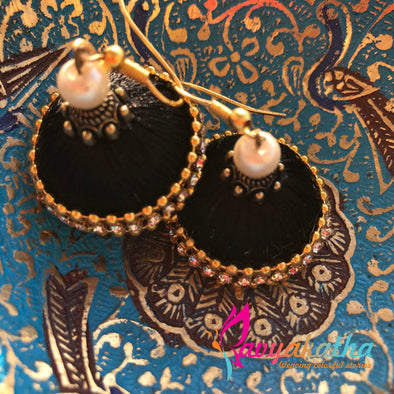 Silk Thread Jhumkas 2