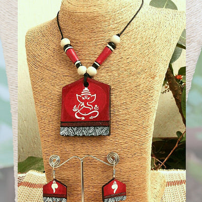 Terracotta Necklace Set 25