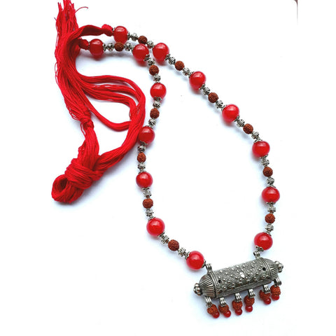 Maduli Rudraksha Necklace