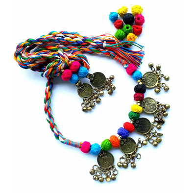 Multi Colour Gini Necklace