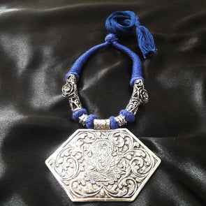 Penta Ganesh Ji Tribal Necklace