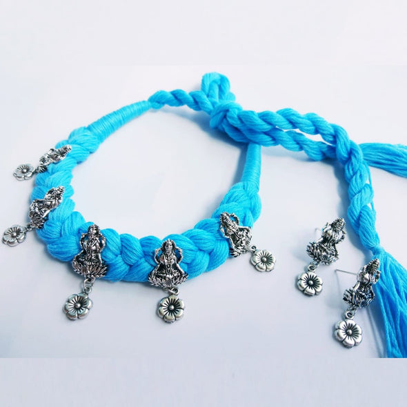 Blue Thread Lakshmi Floral Chique