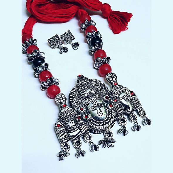 Lord Balaji Necklace Set