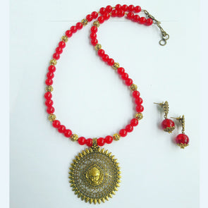 Ethnic Durga Necklace 2
