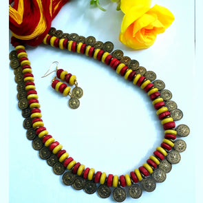 Wood Beads Necklace 2