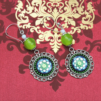 Designer Cabochon Earrings 19