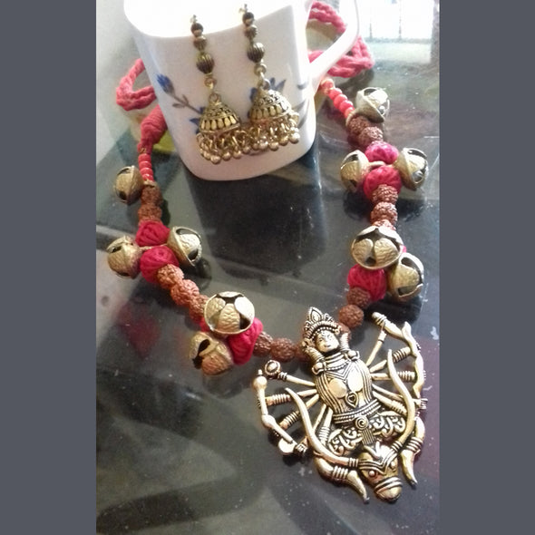 Durga Ghungru Necklace Set