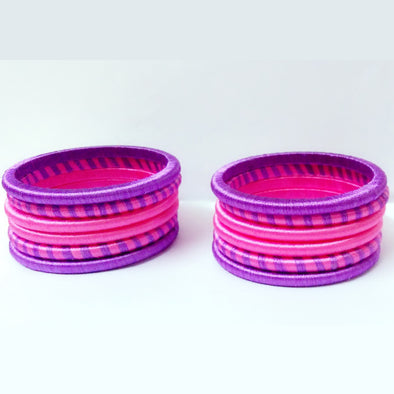 Silk Thread Bangles 6