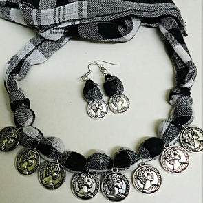 Black and White Magic Necklace