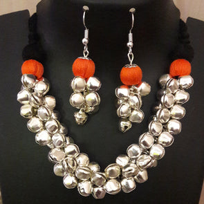Ghungroo Necklace Set