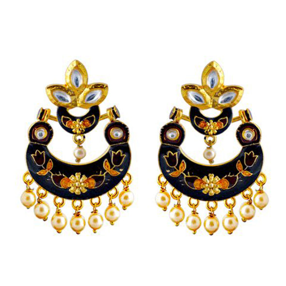 Meenawork Chandbeli Earrings