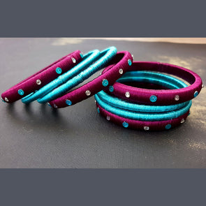 Silk Thread Bangles 12