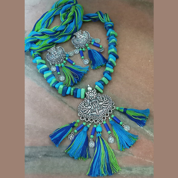 Peacock Necklace Set 1