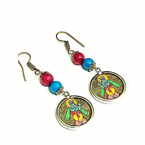 Lord Krishna Earrings