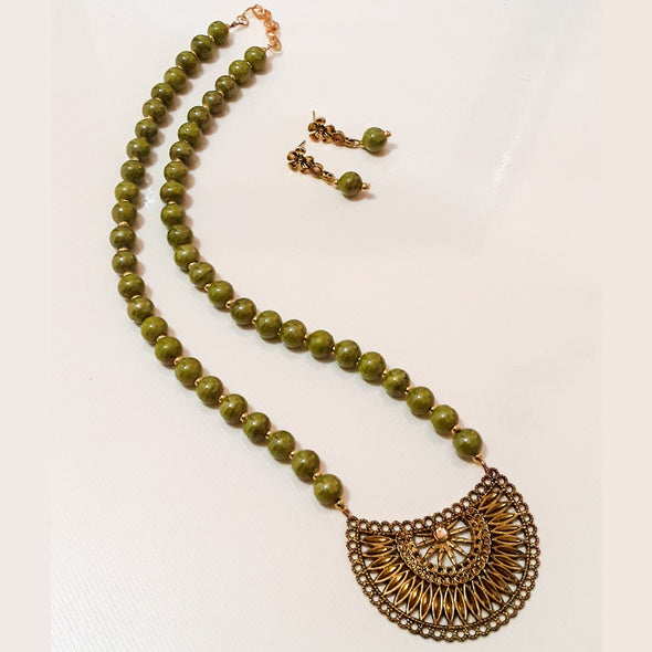 Bead Fashion Jewellery Set