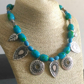 Blue Ocean Bold Necklace