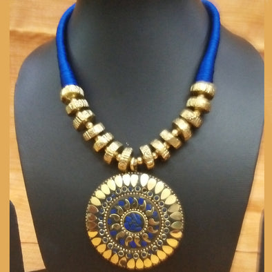 Blue Tibetan Necklace