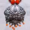 German Silver Krishna Necklace