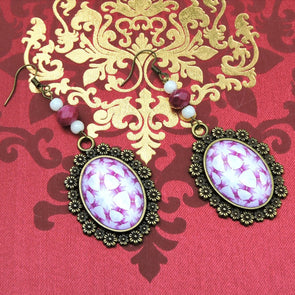 Designer Cabochon Earrings 30
