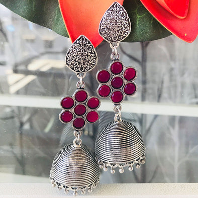 Ruby Woo Earrings