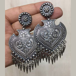Sweetheart Silver Replica Earring