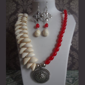 Red Cowrie Ganesha