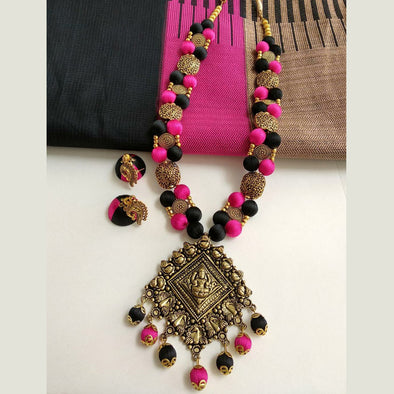 Black and Pink Antique Set