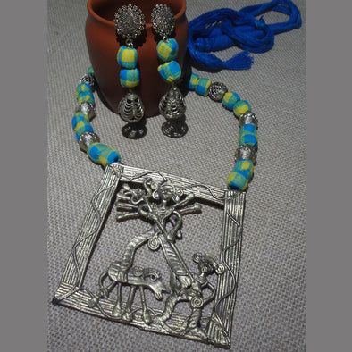 Dokra Durga Necklace Set 1