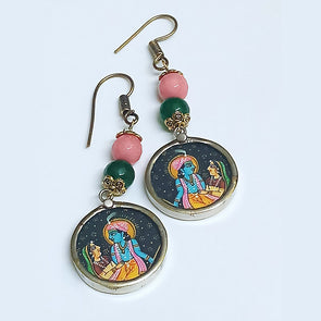 Lord Krishna Earrings 1