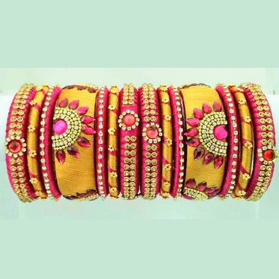 Silk Thread Bangles 14