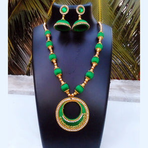 Silk Thread Necklace Set 10