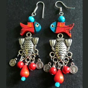 Exclusive Fish Earrings