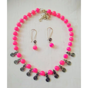 Spiral Beads Necklace Set