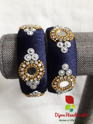 Dark Navy Blue Bangles