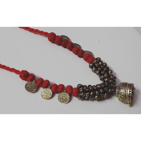Jhumka Ghungru Necklace