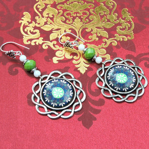 Designer Cabochon Earrings 23