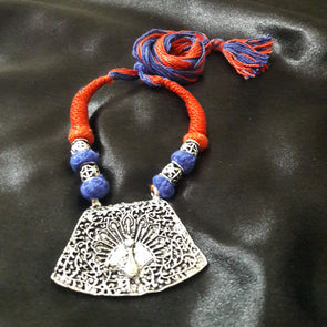 Peacock Pendant Necklace 2