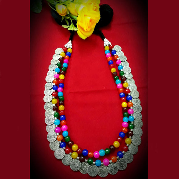 Colourful Gini Neckpiece