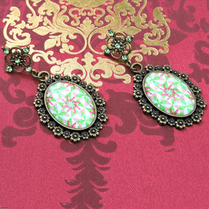 Designer Cabochon Earrings 29