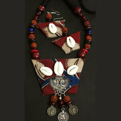 Kalamkari Magic Necklace Set