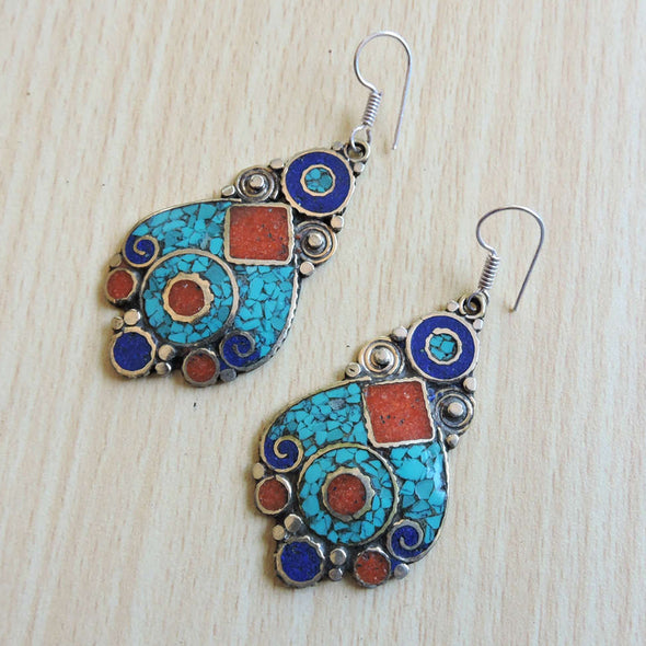 Tibetan Earrings 12