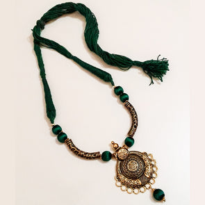 Antique Gold Designer Neckpiece