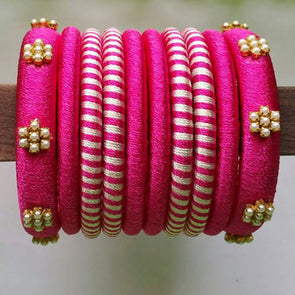 Silk Thread Bangles 13