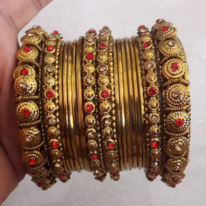 Fancy Golden Bangles