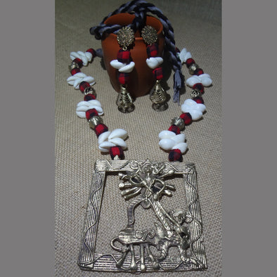 Dokra Durga Necklace Set 2