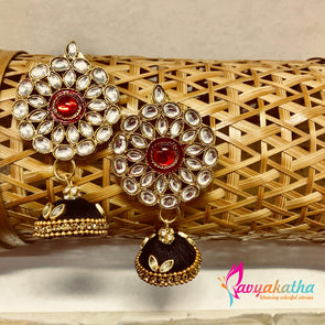 Majestic Statement Jhumkas