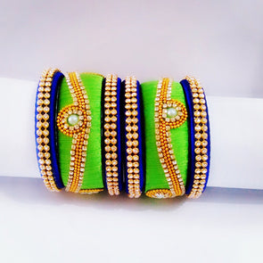 Silk Thread Bangles 3